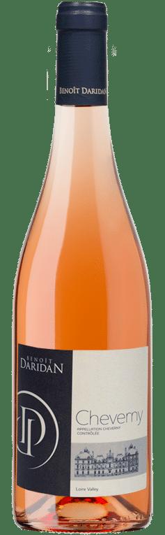Bouteille de Cheverny rosé du domaine Daridan